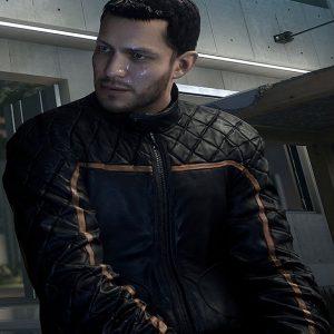 Gamer Hardline Nick Mendoza Black Jacket