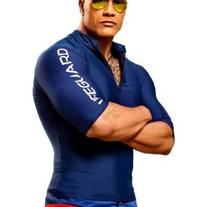 Baywatch Dwayne Johnson Lifeguard Jacket