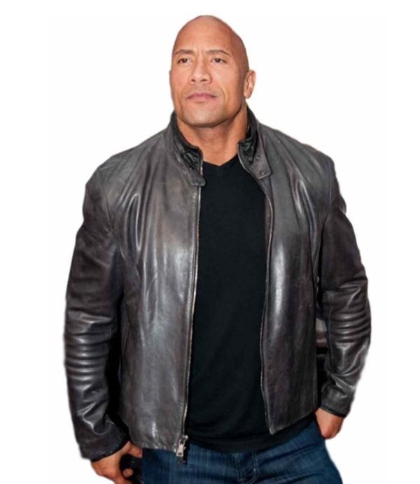 Movie Fast And Furious 8 Dwayne Johnson Jacket