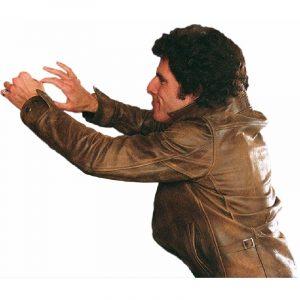Starsky And Hutch Ben Stiller Brown leather Jacket