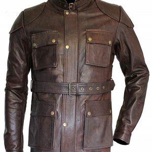 The Curious Case of Benjamin Button Brad Pitt Biker Jacket