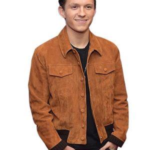 Tom Holland Suede Jacket