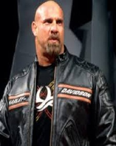 WWE Professional Wrestler Bill Goldberg Harley Davidson Leather Jacket