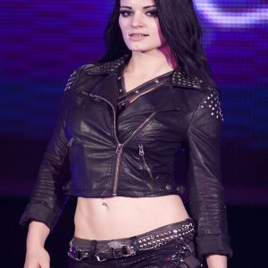 Diva Paige Nxt Black Leather Jacket