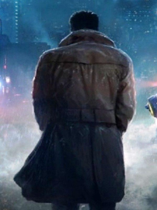 """Sci-Fi, Mystery Film Blade Runner 2049 """"K"""" Ryan Gosling Coat"""