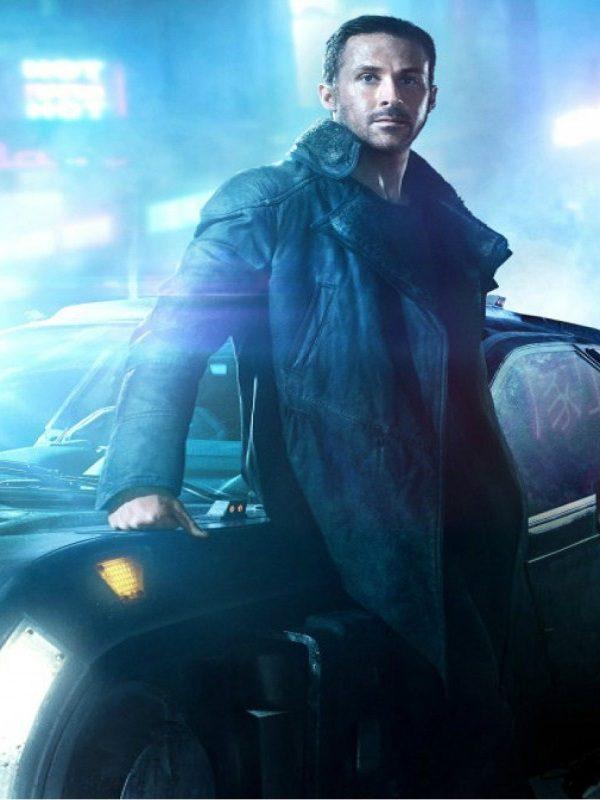 """Sci-Fi, Mystery Blade Runner 2049 """"K"""" Ryan Gosling Coat"""