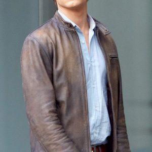 MacGyver Lucas Till Leather Jacket