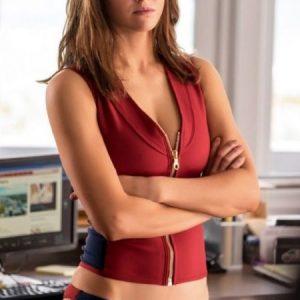 Alexandra Daddario Baywatch Summer Quinn Swimwear Vest