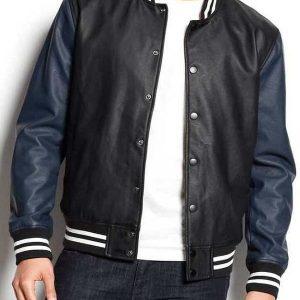 Men Varsity Style Jacket