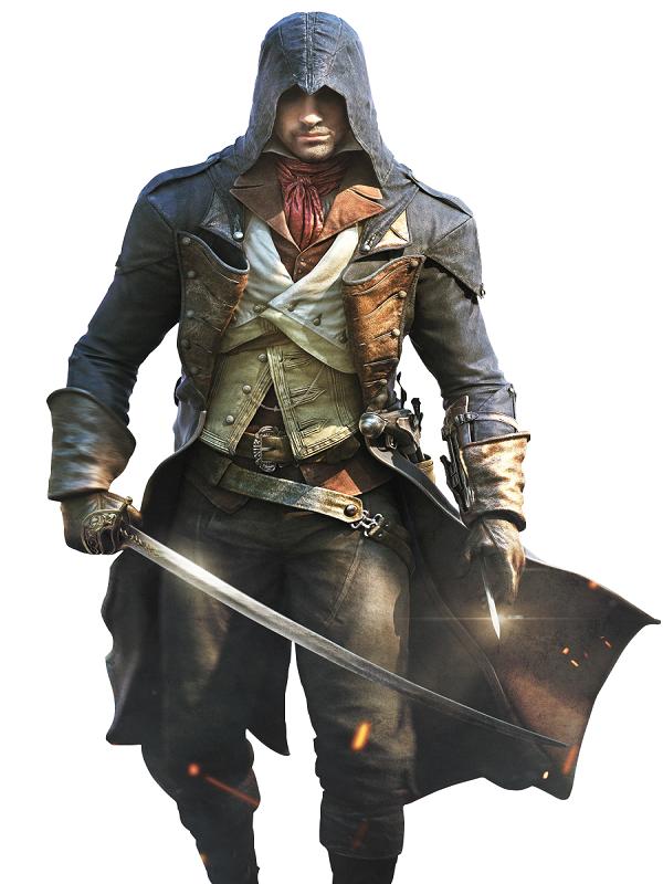 Video Game Assassins Creed Arno Dorian Costume Coat