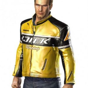 Dead Rising Chuck Greene Leather Jacket