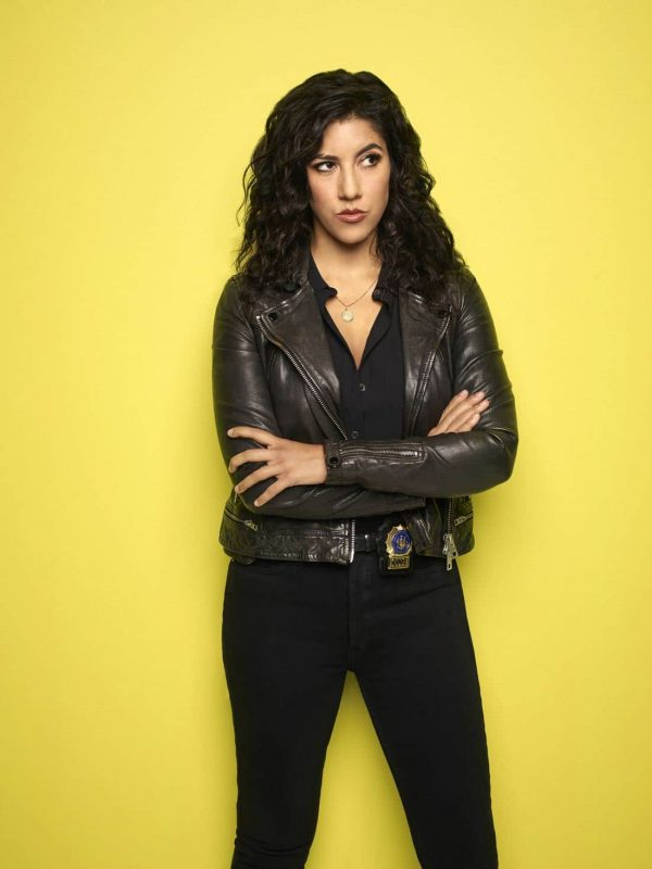 Brooklyn Nine Nine Series Detective Rosa Diaz Leather Jacket
