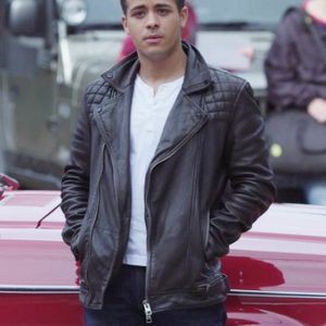 Tony Padilla 13 Reasons Why Leather Jacket