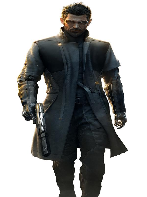 Deus Ex Mankind Divided Adam Jensen Coat