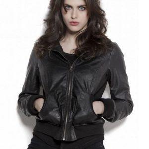 Alexandra Daddario Black Jacket