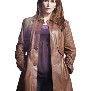 Catherine Tate Doctor Who Series Donna Noble Brown Coat