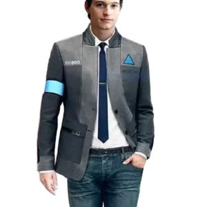 Game Detroit Become Human Connor Cosplay Costume RK800 Agent Unifrom Suit
