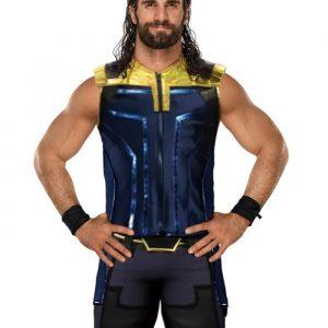 American Professional Wrestler Seth Rollins Stylish Vest