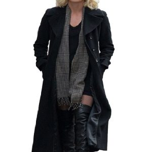 Atomic Blonde Lorraine Broughton Charlize Theron Coat