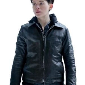Claire Foy The Girl In The Spider Web Black Jacket