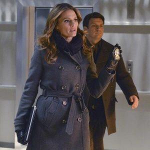 Castle Kate Beckett Stana Katic Coat