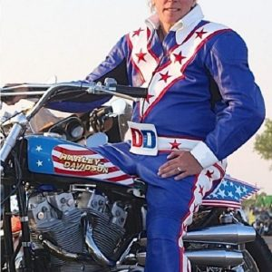Stunt Performer Daredevil Motorbiker Jacket