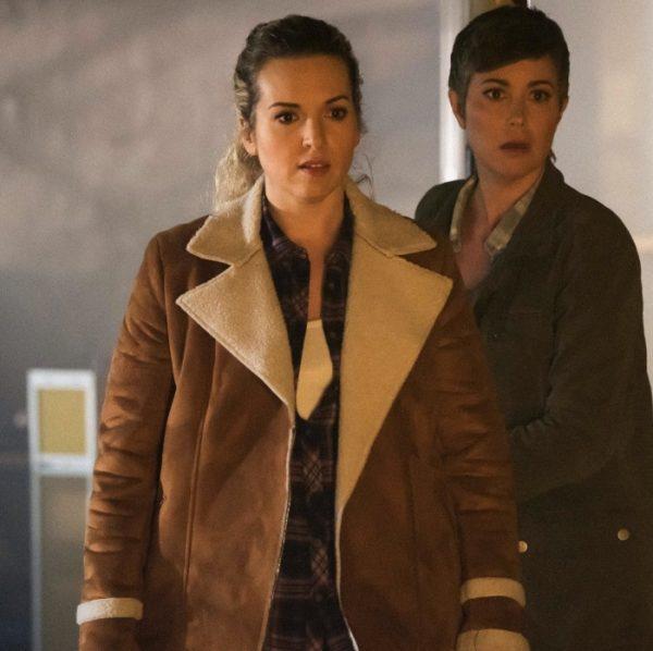 Drama Series Supernatural 5 episodes Sheriff Donna Hanscum Jacket