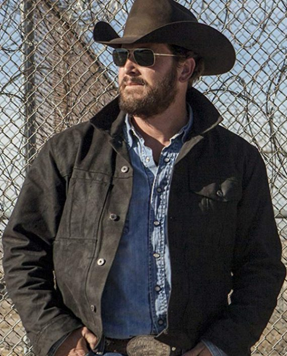 Cole Hauser Yellowstone Rip Wheeler Jacket