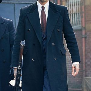 TV Drama Peaky Blinders Luca Changretta Adrien Brody Wool Coat