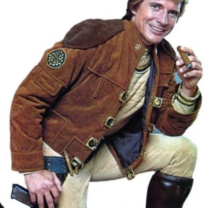 Battlestar-Galactica-Colonial-Warrior-Pilot Suede Leather-Jacket