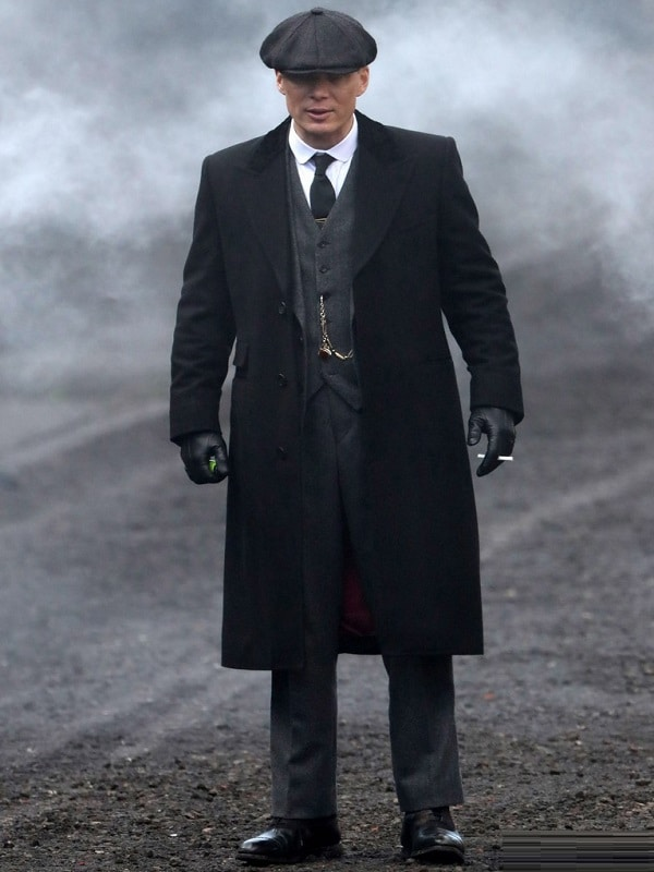 Celebrity Cillian Murphy as Thomas Shelby Wool Coat