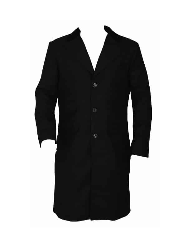 Celebrity Cillian Murphy as Thomas Shelby Black Coat