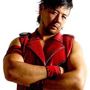 Wrestler Martial Artist Shinsuke Nakamura Leather Jacket