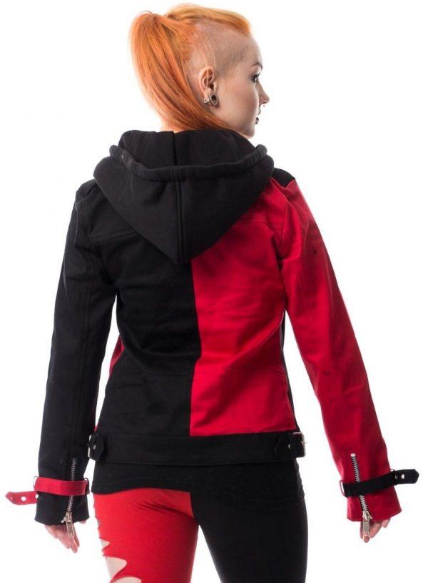 Harley Quinn Suicide Squad Biker Style Hoodie