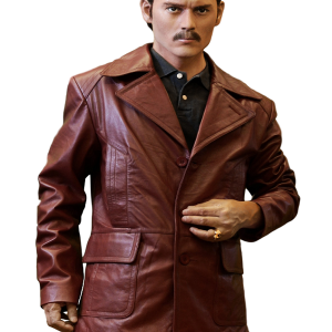 Film Donnie Brasco Johnny Depp Leather Coat