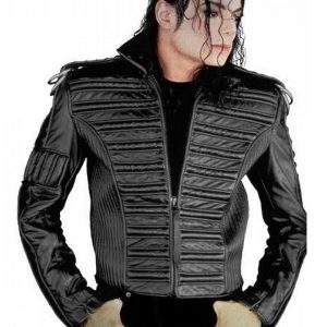American singer-songwriter Michael Jackson Man in the Mirror Jacket