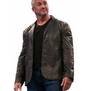 Wrestler Shane McMahon Leather Coat