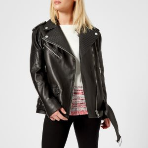 Women's Oversized Stylish design Biker Leather Jacket