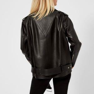 Women's Oversized Stylish design Biker Jacket