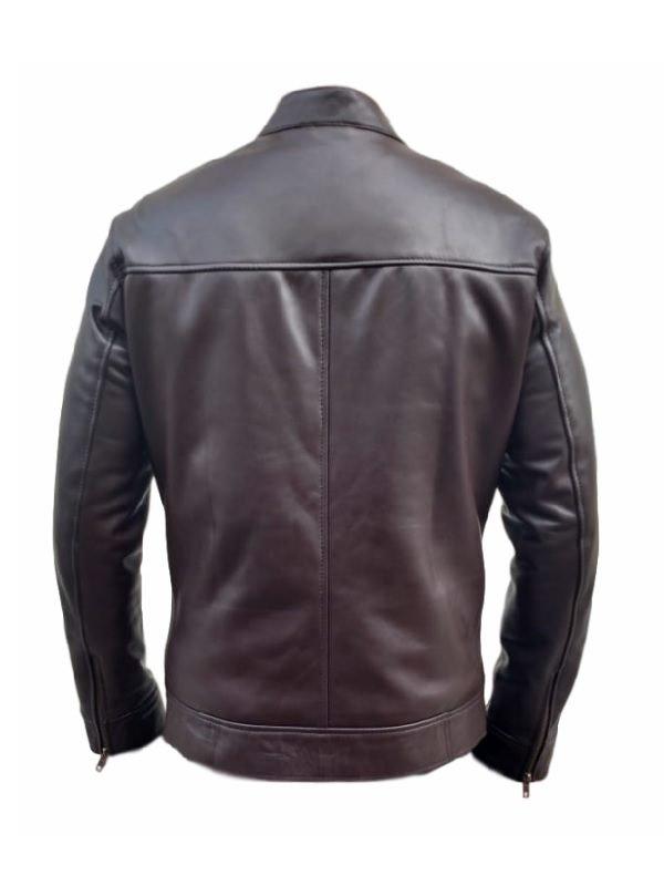 Jason Beghe leather jacket, Chicago P.D. Hank Voight Jacket, Brown Jacket, Classic leather jacket, celebjacket.com