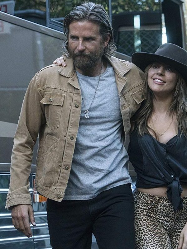 A Star Is Born Jack Bradley Cooper Cotton Jacket