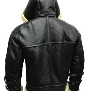 Man Classic B3 Bomber Leather Jacket