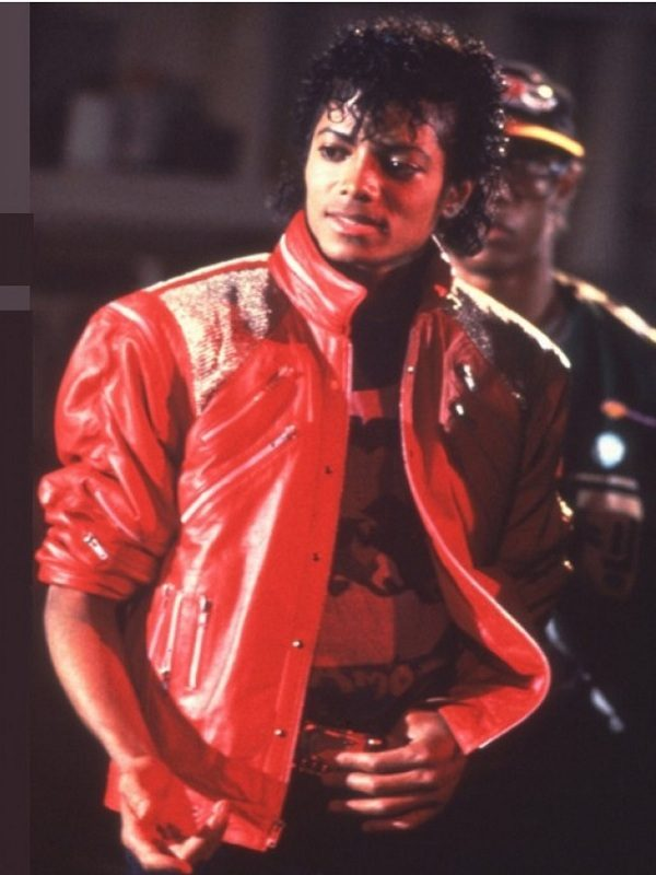 Michael Jackson Beat It Song Red Leather Jacket