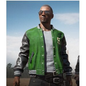 Online multiplayer Video Game Pubg 5M Unisex Varsity Jacket