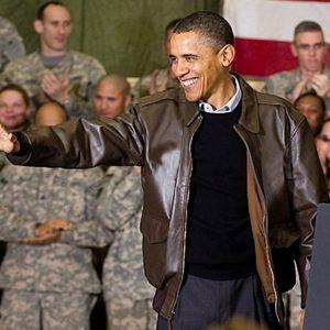 Barack Hussein Obama Bomber Jacket