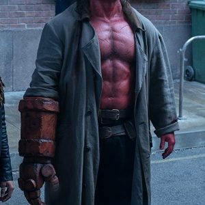 Movie Hellboy David Harbour Coat
