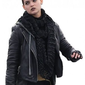 Movie Deadpool Negasonic Teenage Warhead Leather Jacket