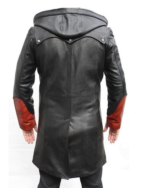 Video Game Devil May Cry 5 Dante Cosplay Hooded Coat