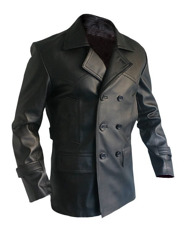 Doctor Who Episode 21 Christopher Eccleston Leather Coat