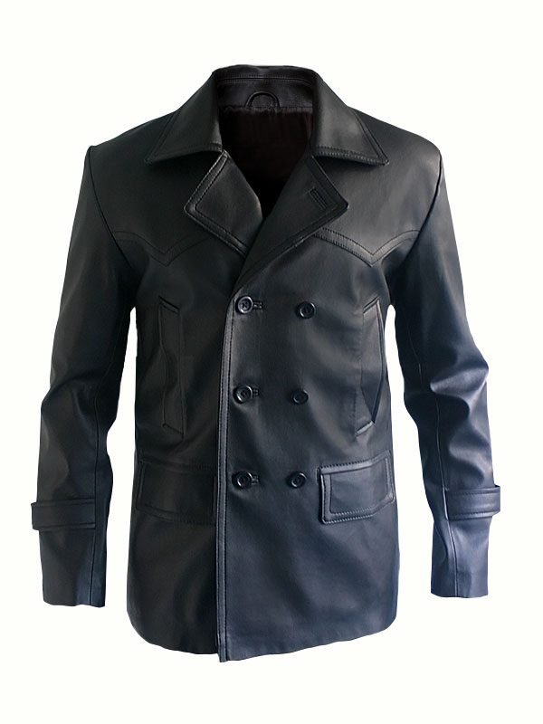 Doctor Who Series Episode 21 Christopher Eccleston Leather Coat
